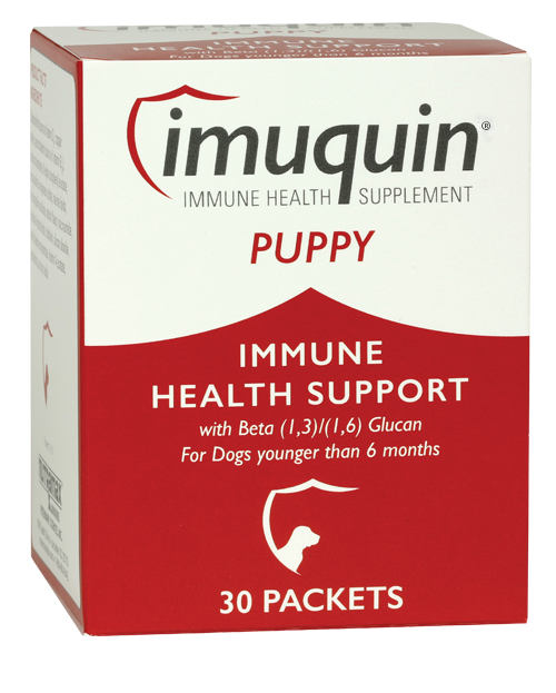 Immune health supplement for puppies.